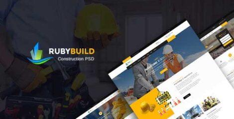 RubyBuild- Building & Construction WordPress Theme 1